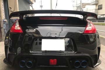 日産 フェアレディ Z 34 IMPUL リアウイング 加工取付!!