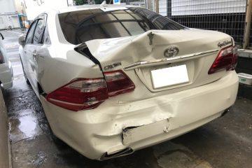 200クラウン 事故修理 鈑金塗装