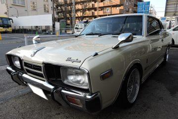 330 グロリア ブロアム 5速 2ドア 東京 町田 鶴間 (有)鈴木自動車