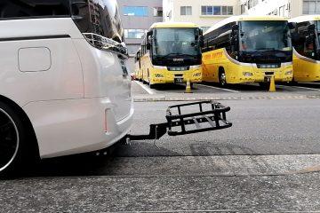 80 ヴォクシー ヒッチメンバー+ヒッチキャリア取付