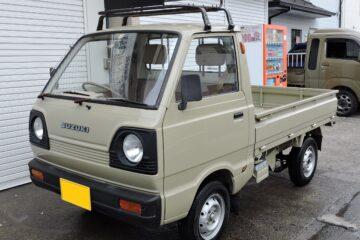 レトロ 軽 トラック スズキ キャリー ST40 型 4MT